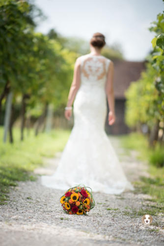 Hochzeitsfotografie mit Wau-Effekt